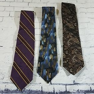 3 Mens Neck Ties